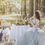 式場を選ぶ花嫁